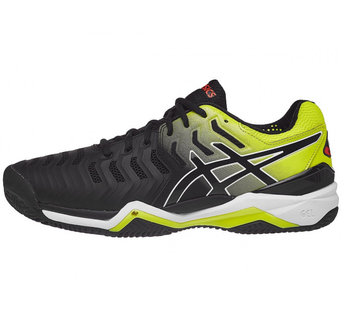 ASICS Gel-Resolution 7 Clay Black/Yellow