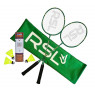 Badminton set RSL green