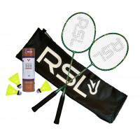 Badminton set black