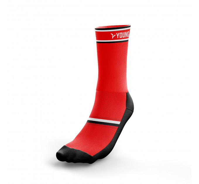 Socks Young Y-CS1 Red