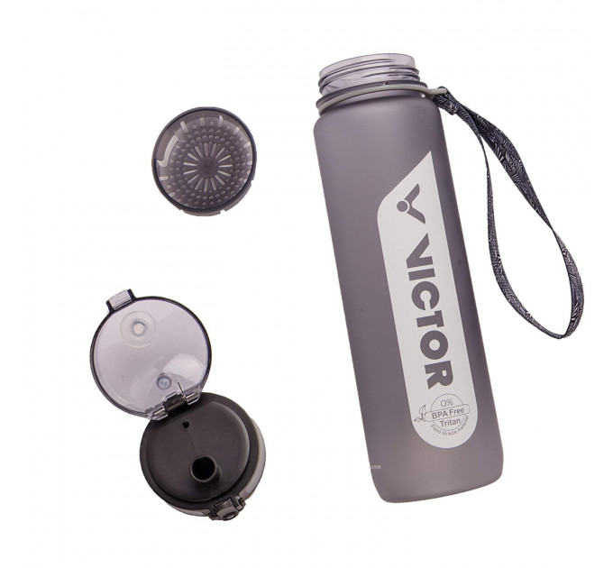 Sport bottle VICTOR grey