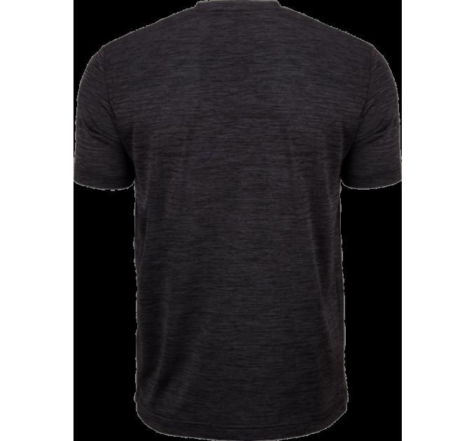 VICTOR T-shirt black melange 6529