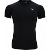 VICTOR Compression Shirt Uni black 5708