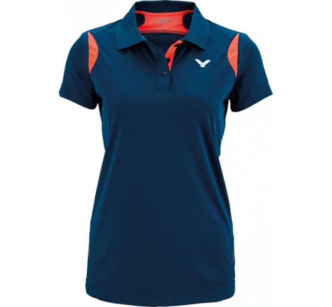 VICTOR POLO FUNCTION FEMALE CORAL 6938