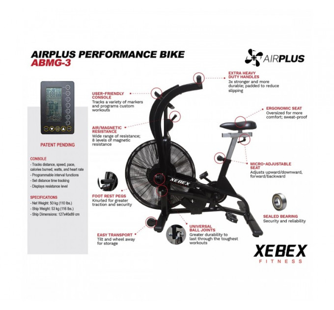 Xebex AirPlus Performance Bike