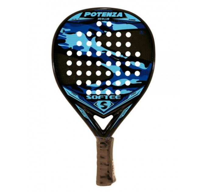 Padel Racket Softee Potenza 3D Blue