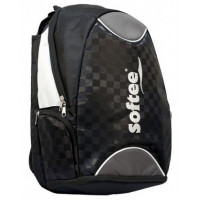 Backpack Softee Black Silver