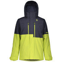 Ski jacket Scott Ultimate Dryo 10 Blue/Yellow
